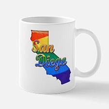 San Diego, California. Gay Pride Mug