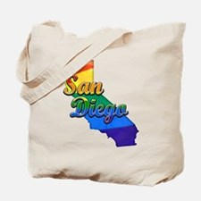 San Diego, California. Gay Pride Tote Bag