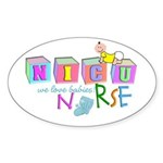 NICU Baby Sticker (Oval)