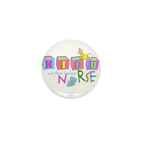 NICU Baby Mini Button