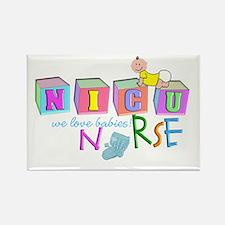 NICU Baby Rectangle Magnet