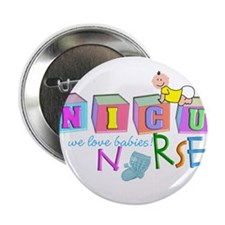 "NICU Baby 2.25"" Button"