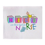 NICU Baby Throw Blanket