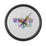 NICU Baby Large Wall Clock