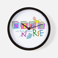 NICU Baby Wall Clock