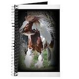 Gypsy vanner Journals & Spiral Notebooks
