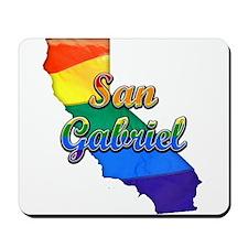 San Gabriel, California. Gay Pride Mousepad
