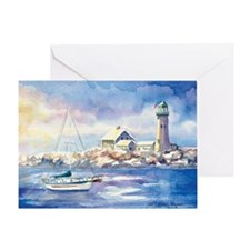 Scituate Harbor Greeting Card
