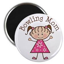 Bowling Mom Magnet