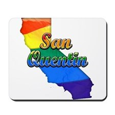 San Quentin, California. Gay Pride Mousepad