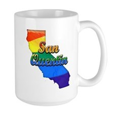 San Quentin, California. Gay Pride Mug