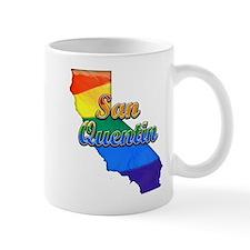 San Quentin, California. Gay Pride Small Mug