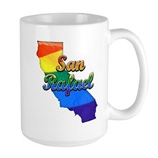 San Rafael, California. Gay Pride Mug