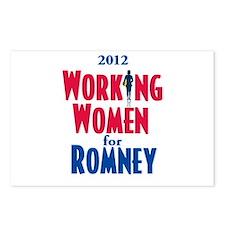 Romney WOMEN Postcards (Package of 8)