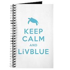Keep Calm and LiVBLUE Journal
