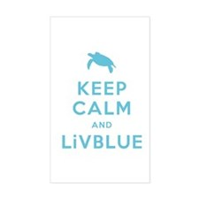 Keep Calm and LiVBLUE Decal