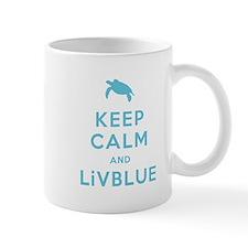 Keep Calm and LiVBLUE Mug