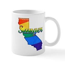 Sanger, California. Gay Pride Mug
