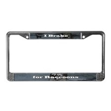 Raccoon Lover's License Plate Frame