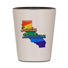 Santa Barbara, California. Gay Pride Shot Glass