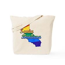 Santa Barbara, California. Gay Pride Tote Bag