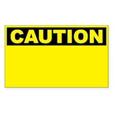 Caution Blank
