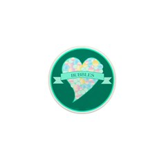 I Love Bubbles Mini Button (100 pack)