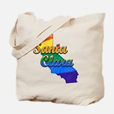 Santa Clara, California. Gay Pride Tote Bag