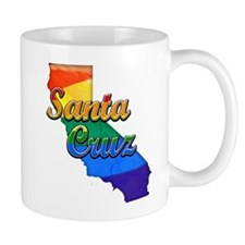 Santa Cruz, California. Gay Pride Mug