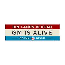 Bin Laden Dead, Auto Industry Alive Car Magnet 10