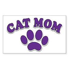 Cat Mom Bumper Stickers