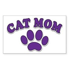 Cat Mom Decal
