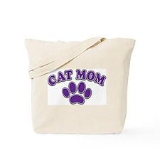 Cat Mom Tote Bag
