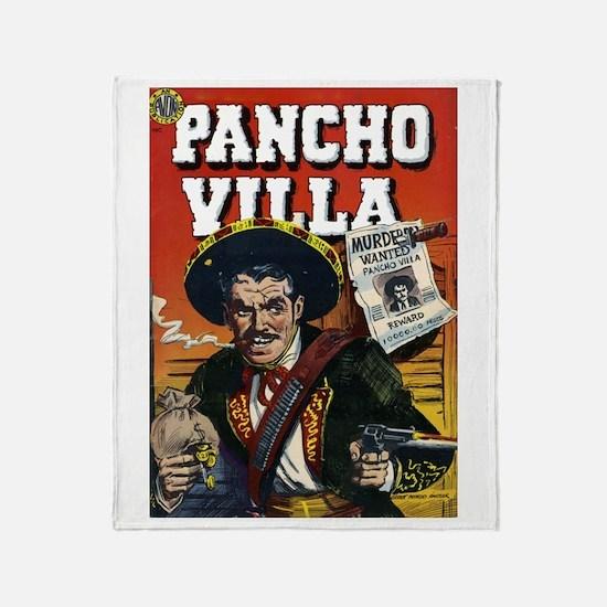$59.99 Classic Pancho Villa Throw Blanket