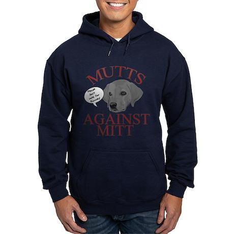 Mutts Against Mitt Hoodie (dark)