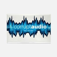 Corrupt Audio Network Logo Magnets