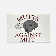 Mutts Against Mitt Rectangle Magnet