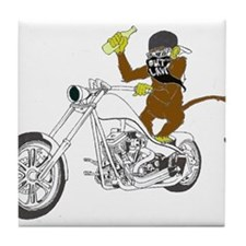 Drunken Monkey Tile Coaster