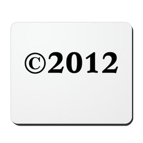 2012 Mousepad