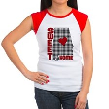 Sweet Home Bama Women's Cap Sleeve T-Shirt