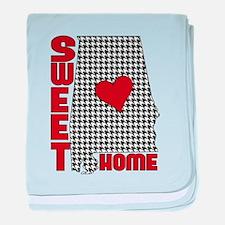Sweet Home Bama baby blanket