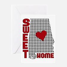 Sweet Home Bama Greeting Card