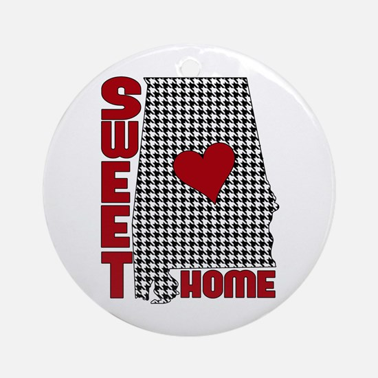 Sweet Home Bama Ornament (Round)