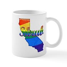 Shrub, California. Gay Pride Mug