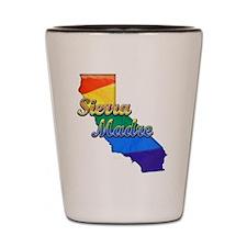Sierra Madre, California. Gay Pride Shot Glass