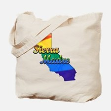 Sierra Madre, California. Gay Pride Tote Bag