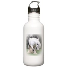 All White Stallion Water Bottle