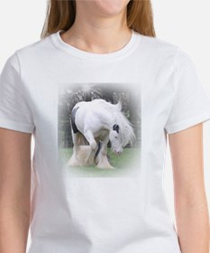 All White Stallion Tee