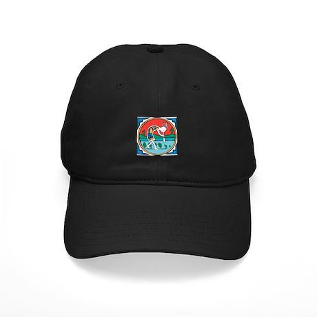 Kokopelli Man Black Cap