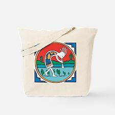 Kokopelli Man Tote Bag
